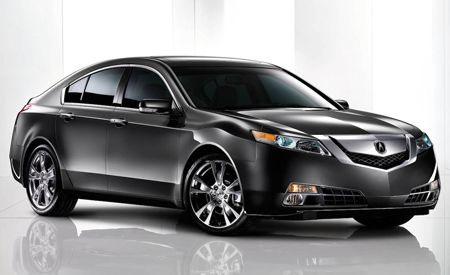 2009 Acura TL: Official Photos and Info