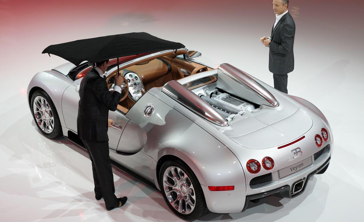 2009 Bugatti Veyron 16.4 GrandSport