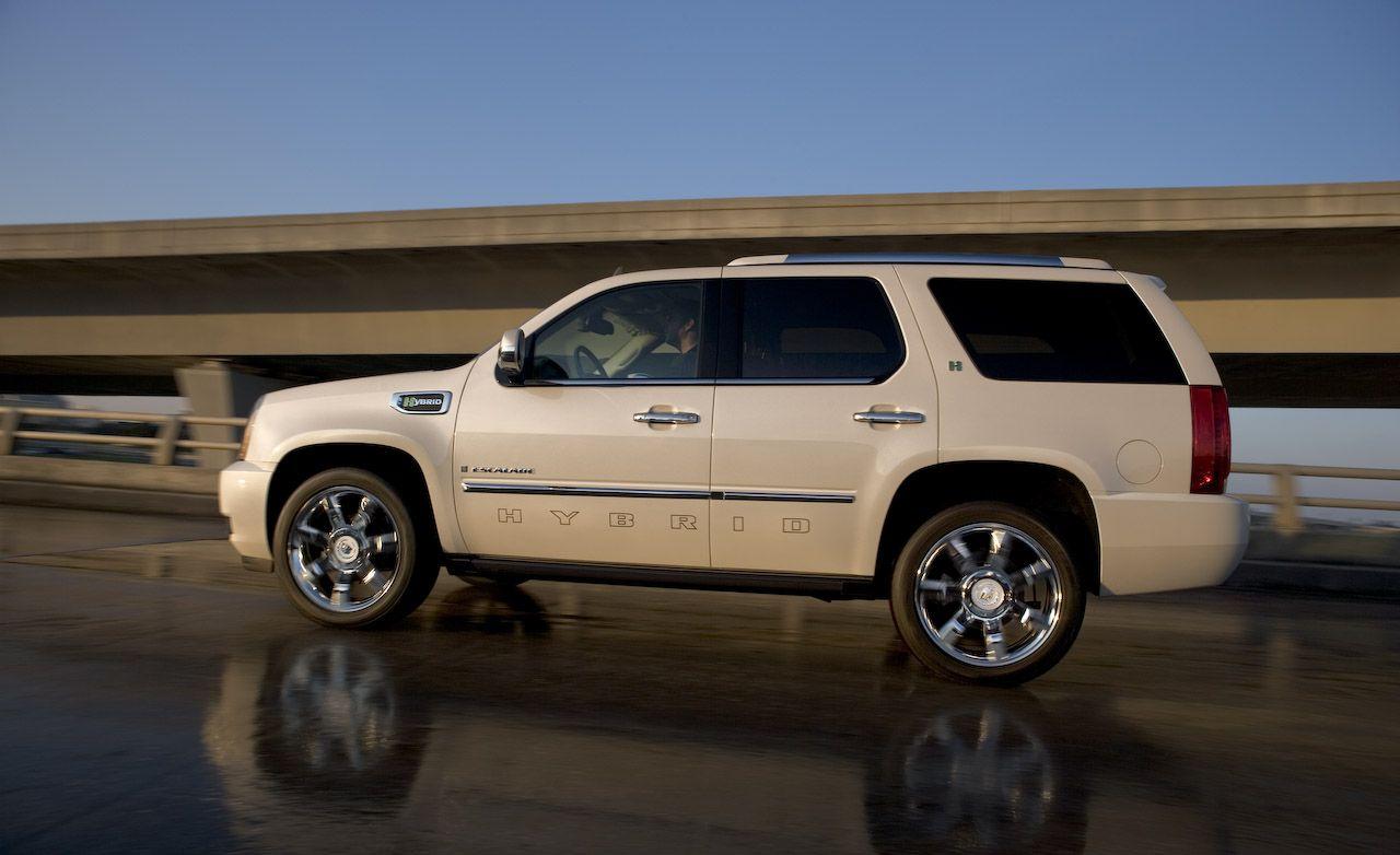 2009 Cadillac Escalade Hybrid and Platinum Models
