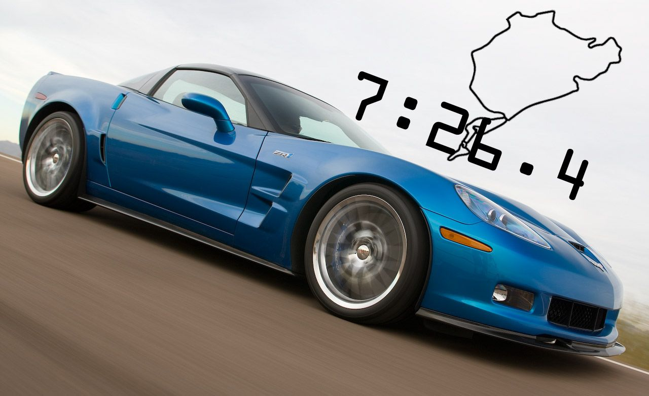 2009 chevrolet corvette zr1 video lapping the ring