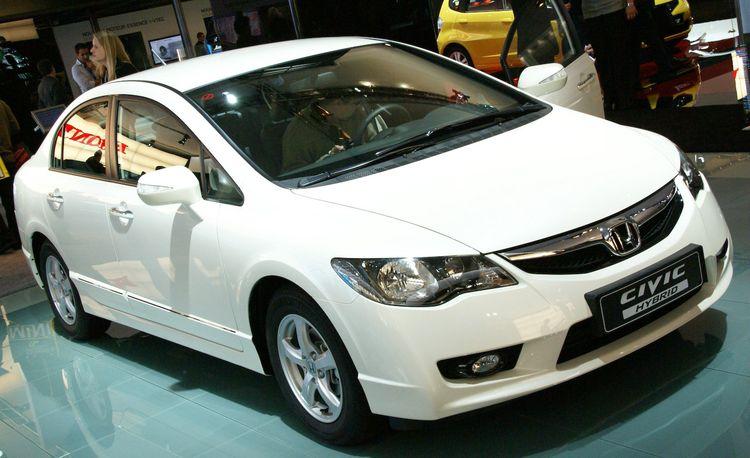 2009 Honda Civic Hybrid for Europe