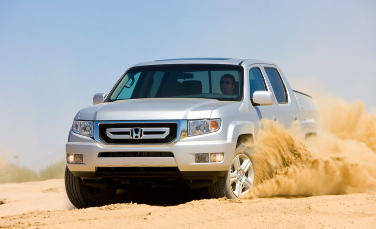 2009 Honda Ridgeline Gets Updated
