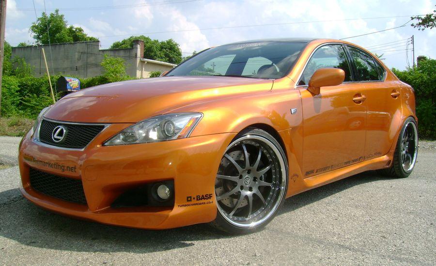 2009 Lexus IS F for SEMA