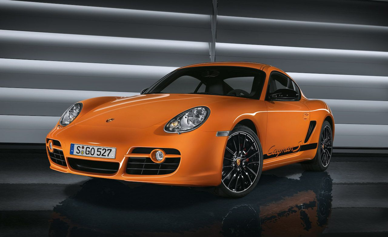 2009 Porsche Boxster S Porsche Design Edition 2 and Cayman S Sport