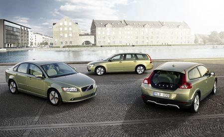 2009 Volvo C30, S40, V50 DRIVe Models