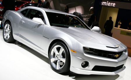 2010 Chevrolet Camaro SS: GM Releases Official Photos