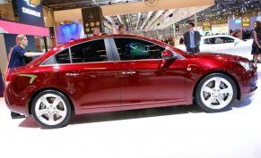2011 Chevrolet Cruze Unveiling