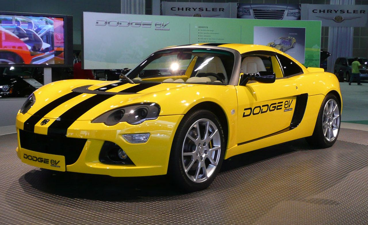 dodge jeep  chrysler electric vehicles