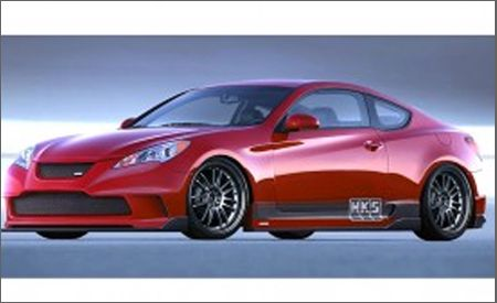 Hyundai Genesis Coupe for SEMA