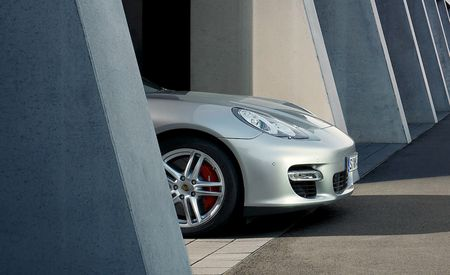Porsche Panamera Teaser Shots and Cryptic Website Released