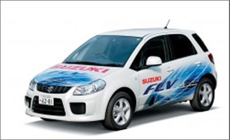 Suzuki SX4-FCV and Crosscage concepts