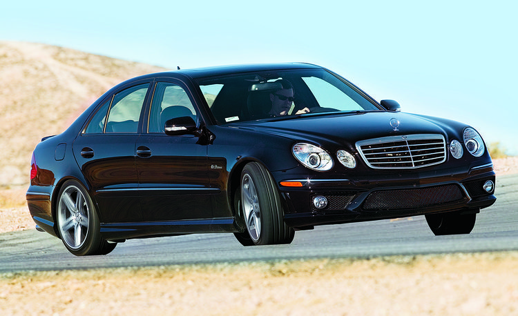Luxury Vehicle: 2012 Dodge Charger SRT8 Vs. 2008 Mercedes-Benz E63 AMG
