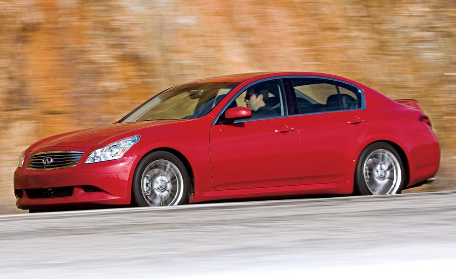 Certified Pre-Owned: 2005 - 2008 Infiniti G35 / 2008 G37