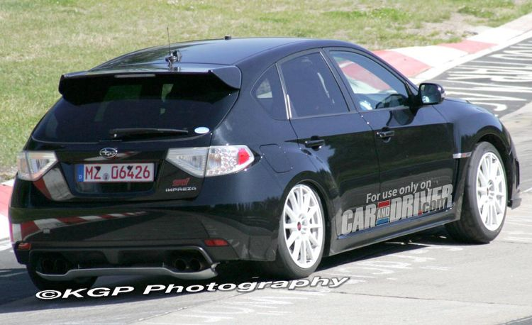 2009 Subaru WRX STI Spec C