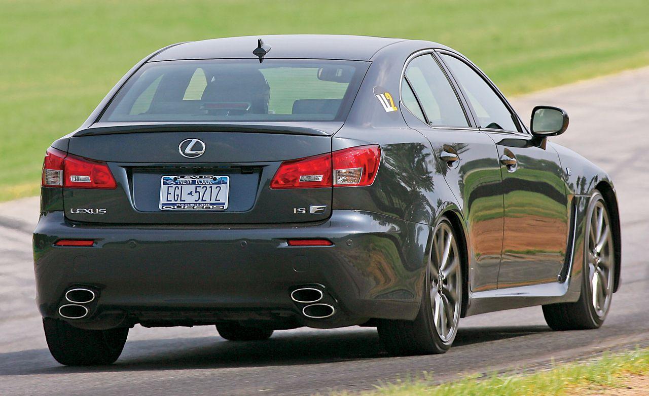 LL2: 2008 Lexus IS F