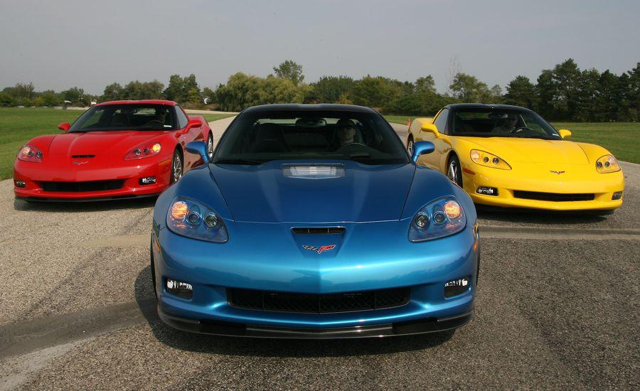 2009 Chevrolet Corvette Z51 / Z06 / ZR1
