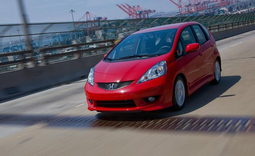 2010 Honda Fit Sport - Slide 2