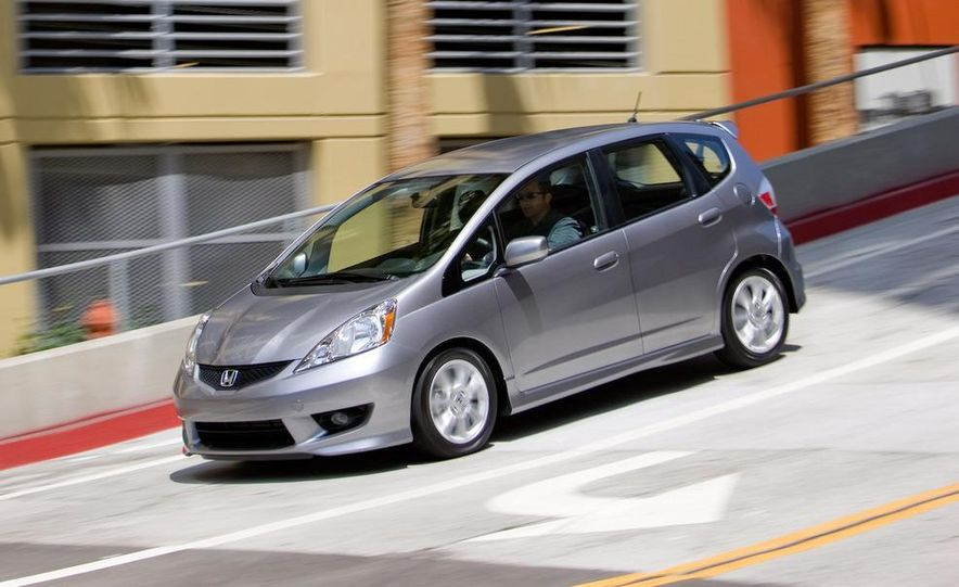2010 Honda Fit Sport - Slide 4