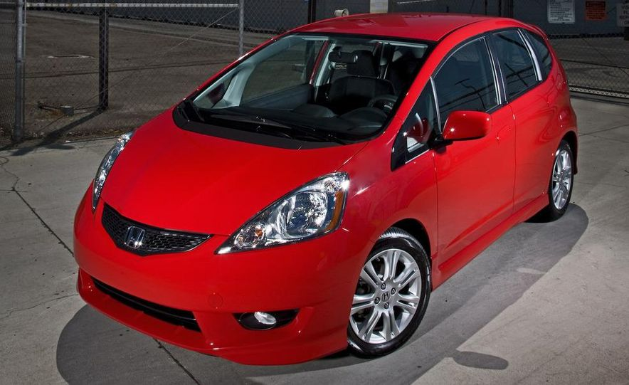 2010 Honda Fit Sport - Slide 9
