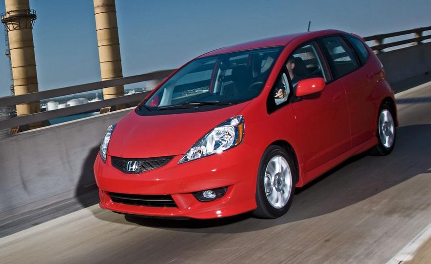 2010 Honda Fit Sport - Slide 12