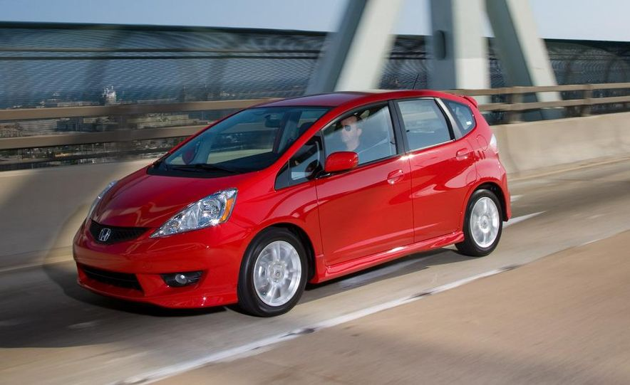 2010 Honda Fit Sport - Slide 14