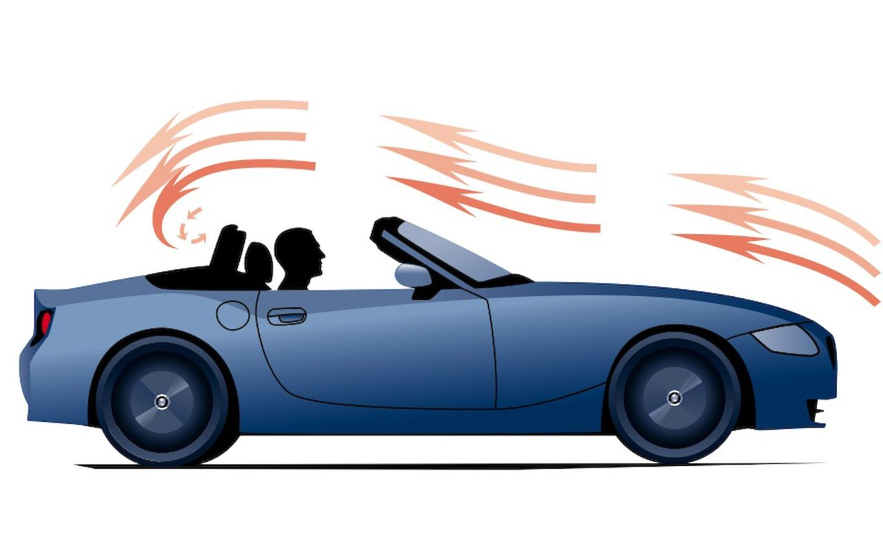 Keep the Convertible Top Up While Driving on Highways