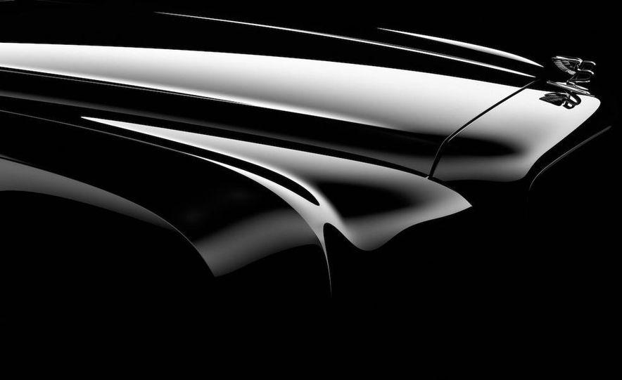 Bentley Arnage replacement (teaser image) - Slide 1