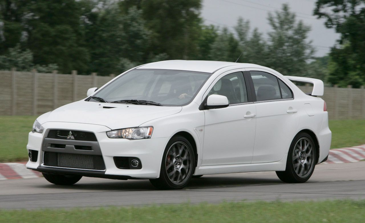 2008 Mitsubishi Lancer Evolution MR | Short Take Road Test | Car and Driver
