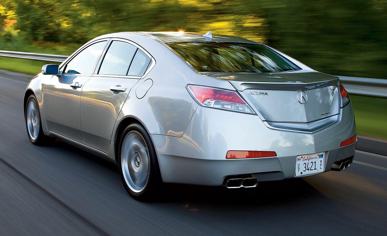 2009 acura tl rh caranddriver com 2009 acura tl sh-awd owners manual 2009 Acura TL Type S