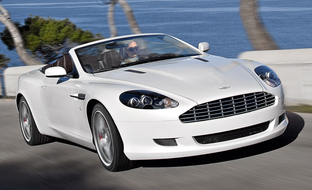 2009 Aston Martin Db9 Volante Review Car And Driver