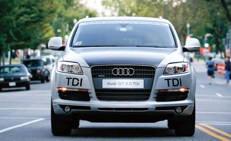 2009 audi q7 3 0 tdi quattro diesel short take road test reviews car and driver. Black Bedroom Furniture Sets. Home Design Ideas