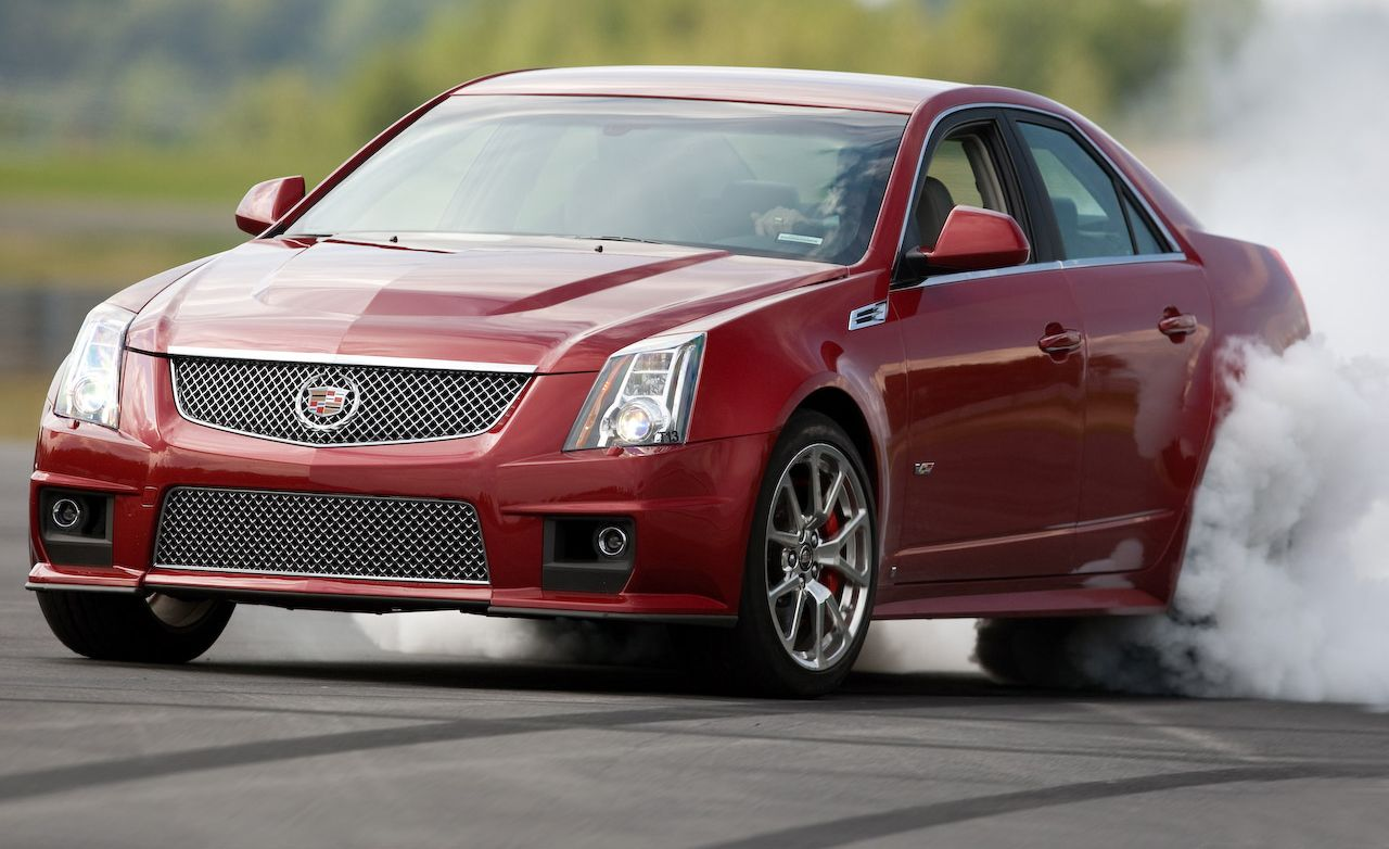 2009 Cadillac Cts V Road Test Review Car And Driver