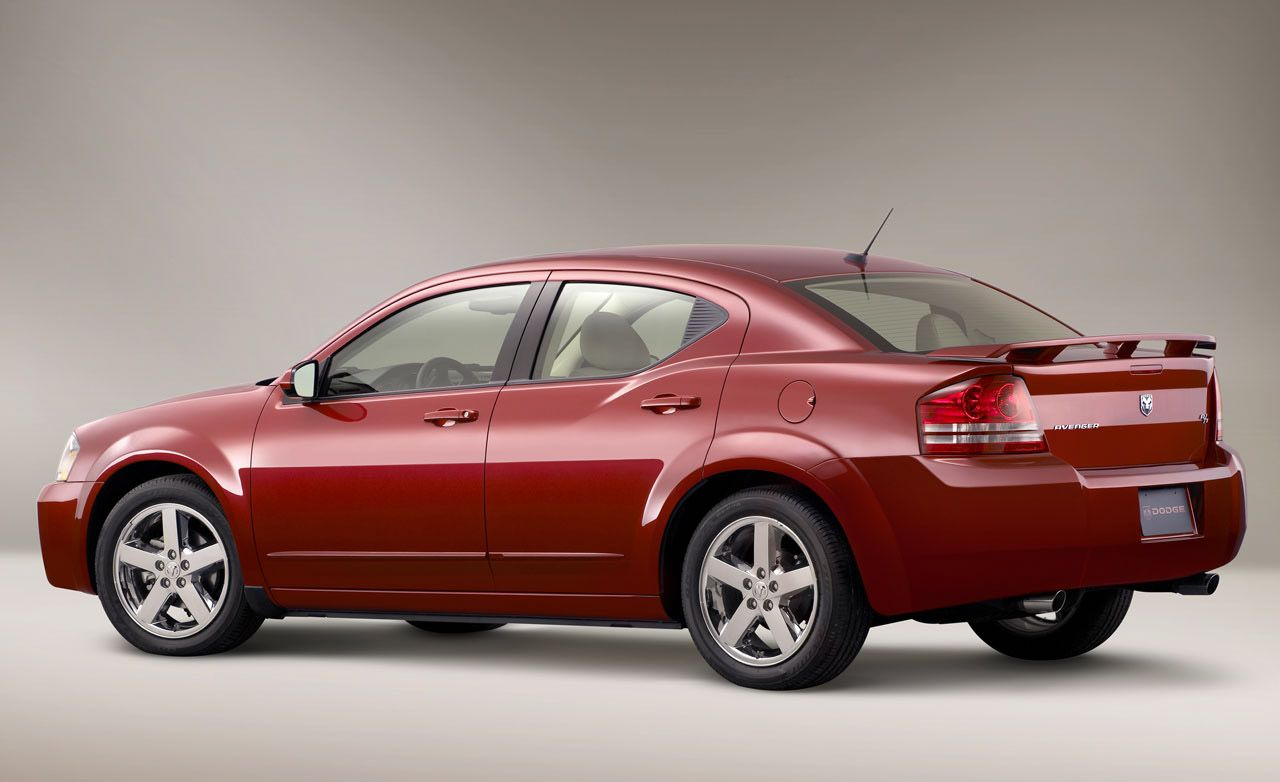 2009 Dodge Avenger Review Car And Driver