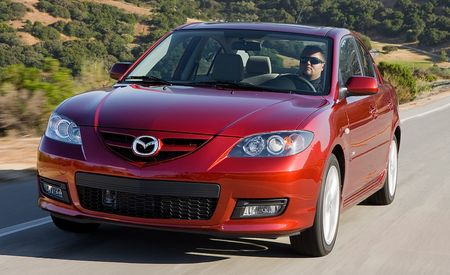 2009 Mazda 3 and Mazdaspeed 3