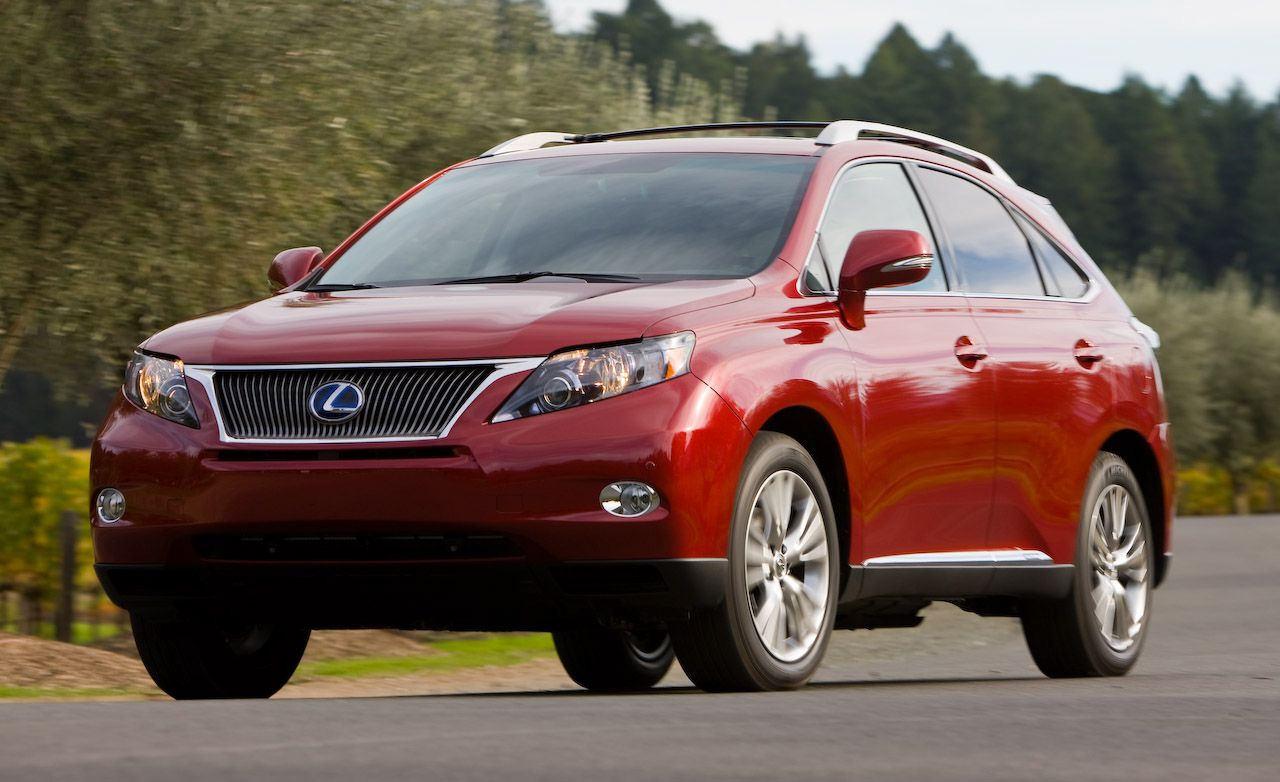 2010 lexus rx350 rx450h hybrid. Black Bedroom Furniture Sets. Home Design Ideas
