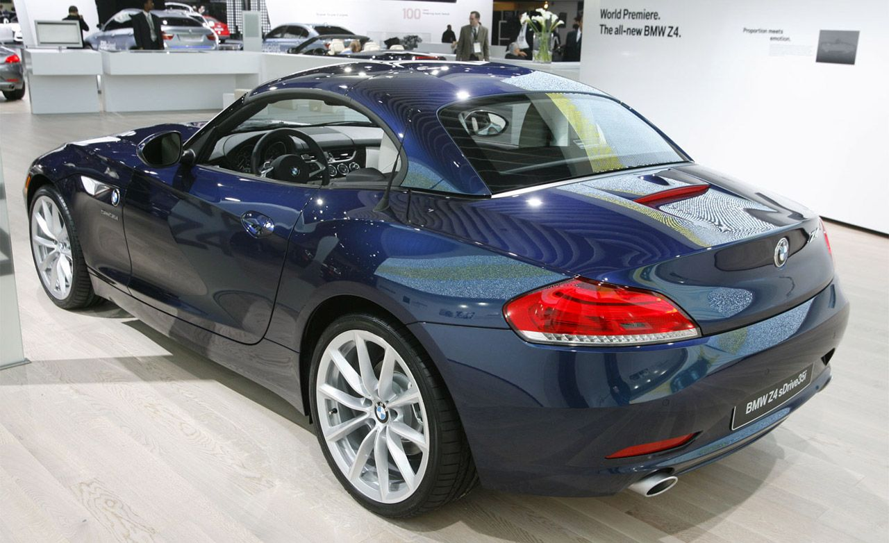 2009 bmw z4 roadster | official photos and info | news | car and