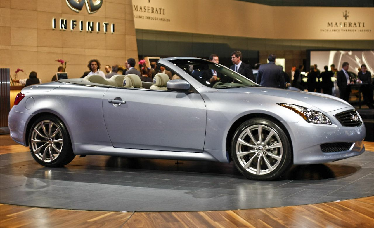 2009 Infiniti G37 Convertible - Official Photos and Info