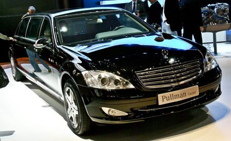 2009 Mercedes-Benz S600 Pullman Guard