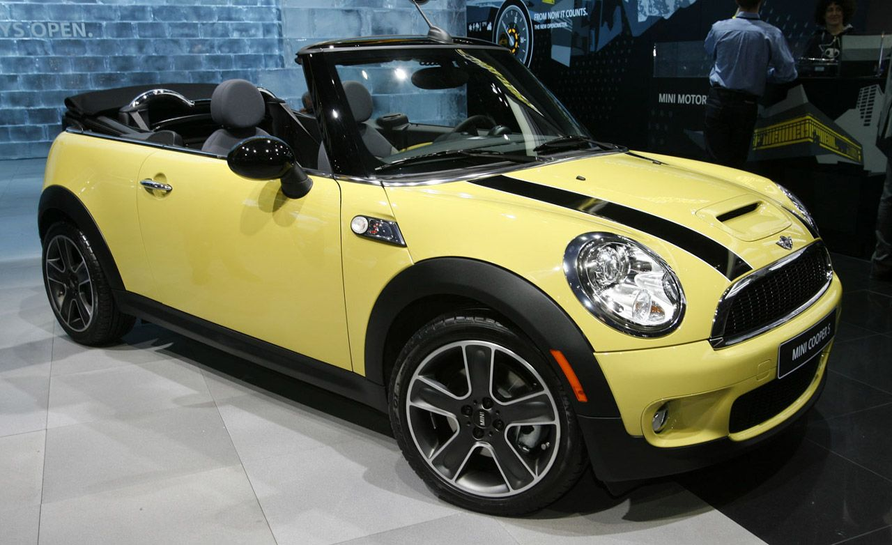 2009 mini cooper cooper s convertible. Black Bedroom Furniture Sets. Home Design Ideas