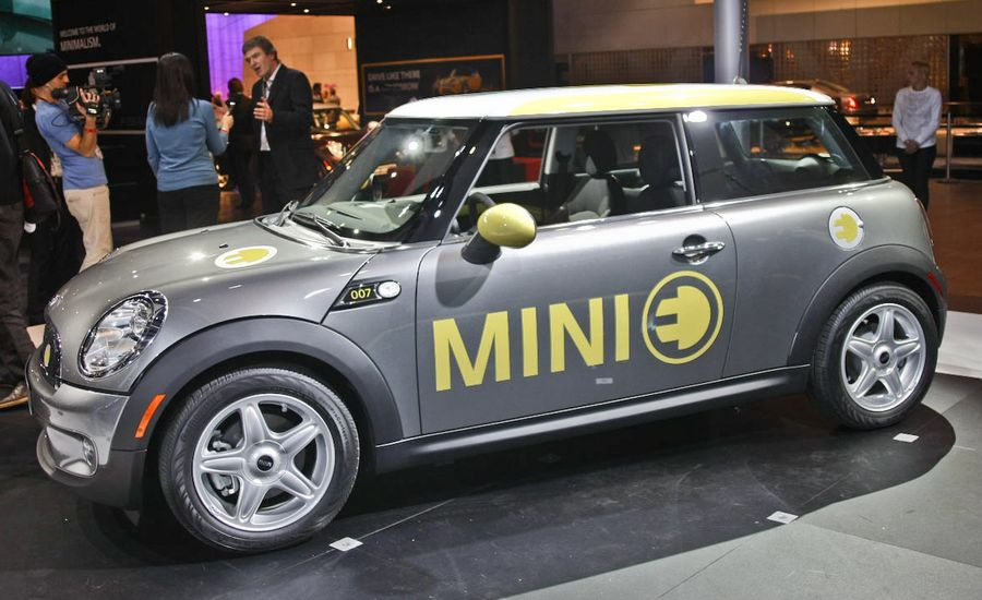 2009 Mini E - Official Photos and Info
