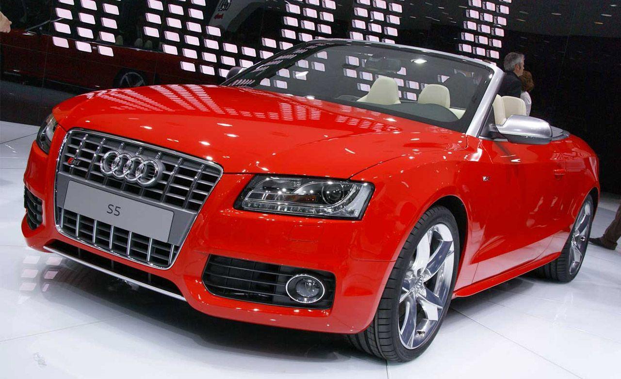 2010 Audi A5 / S5 Cabriolet