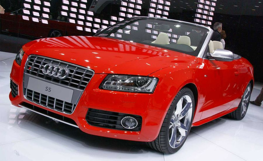 2010 Audi A5 S5 Cabriolet