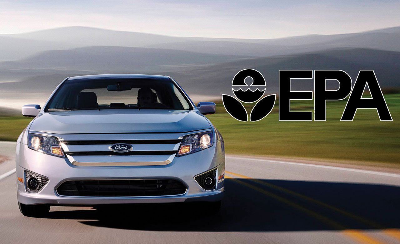 2010 Ford Fusion Hybrid Rated at 41 MPG City/36 Highway
