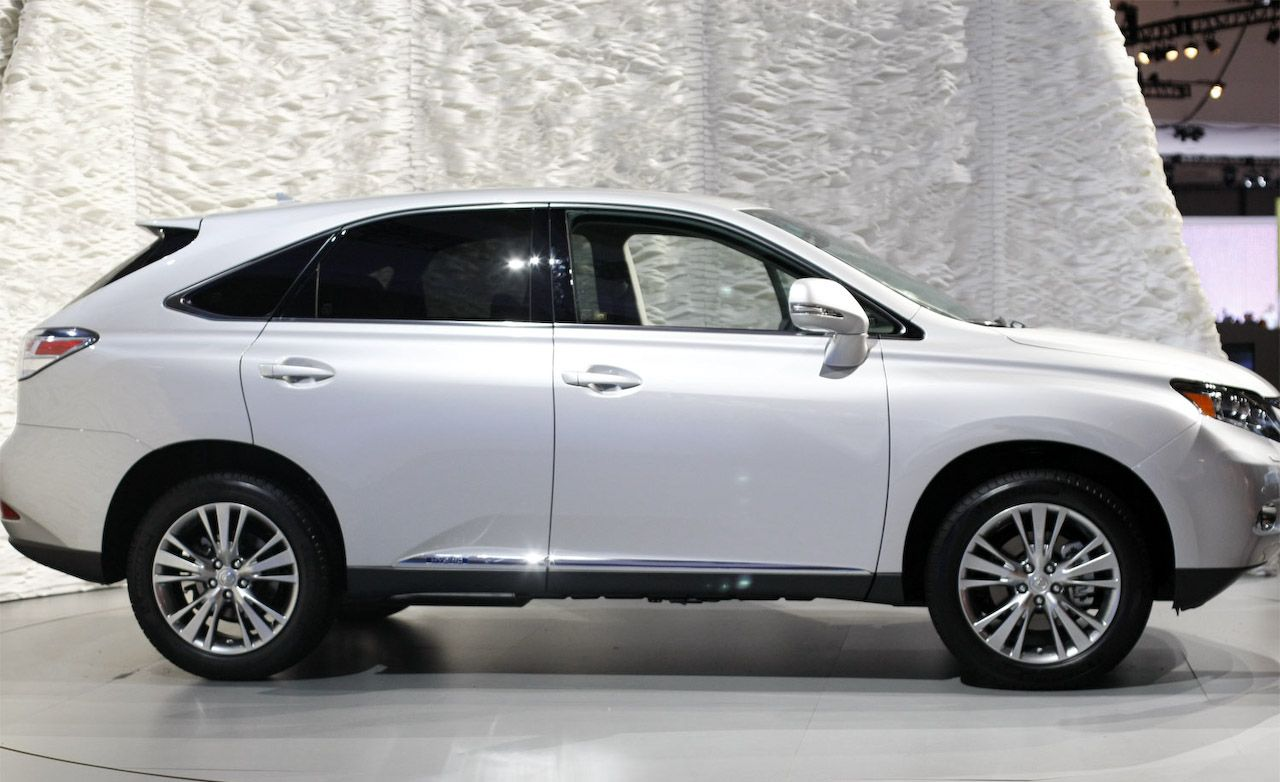 2010 Lexus RX350  RX450h Hybrid  Video  News  Car and Driver