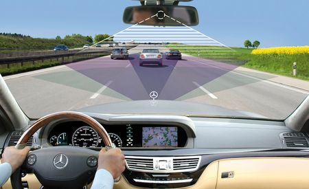 2010 Mercedes-Benz E-class and S-class: Safety Technology