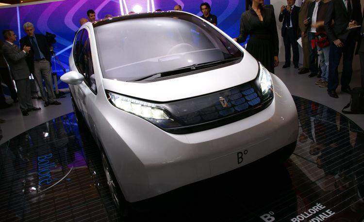 2010 Pininfarina B0 Electric Car