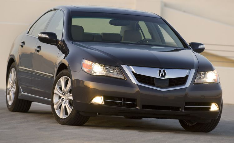 2011 / 2012 Acura RL Gets a V-8