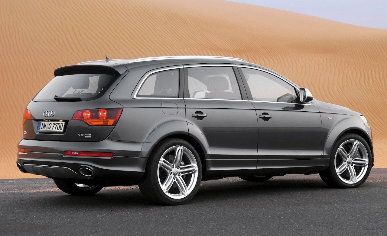 Audi Q7 V12 TDI Diesel Not For U.S.