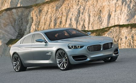 BMW Cancels Gran Turismo Four-Door Coupe