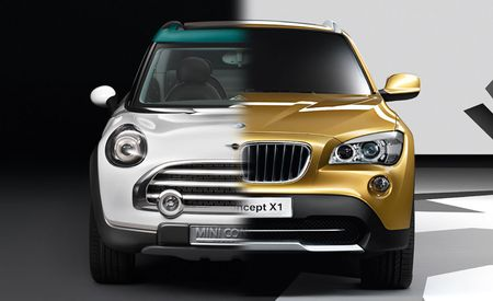 BMW X1, Mini Crossover Concept Developed Separately